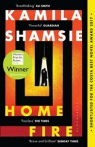 Cover of Home Fire by Kamila Shamsie