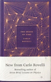 Cover of The Order of Time by Carlo Rovelli