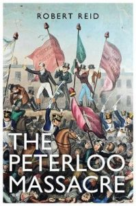 Cover of The Peterloo Massacre by Robert Reid