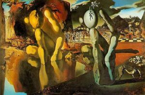 Metamorphosis of Narcissus, Salvador Dali, 1937