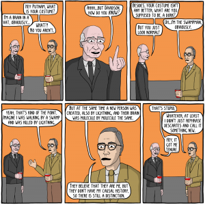Excerpt from A very spooky philosophy Halloween, an Existential Comic